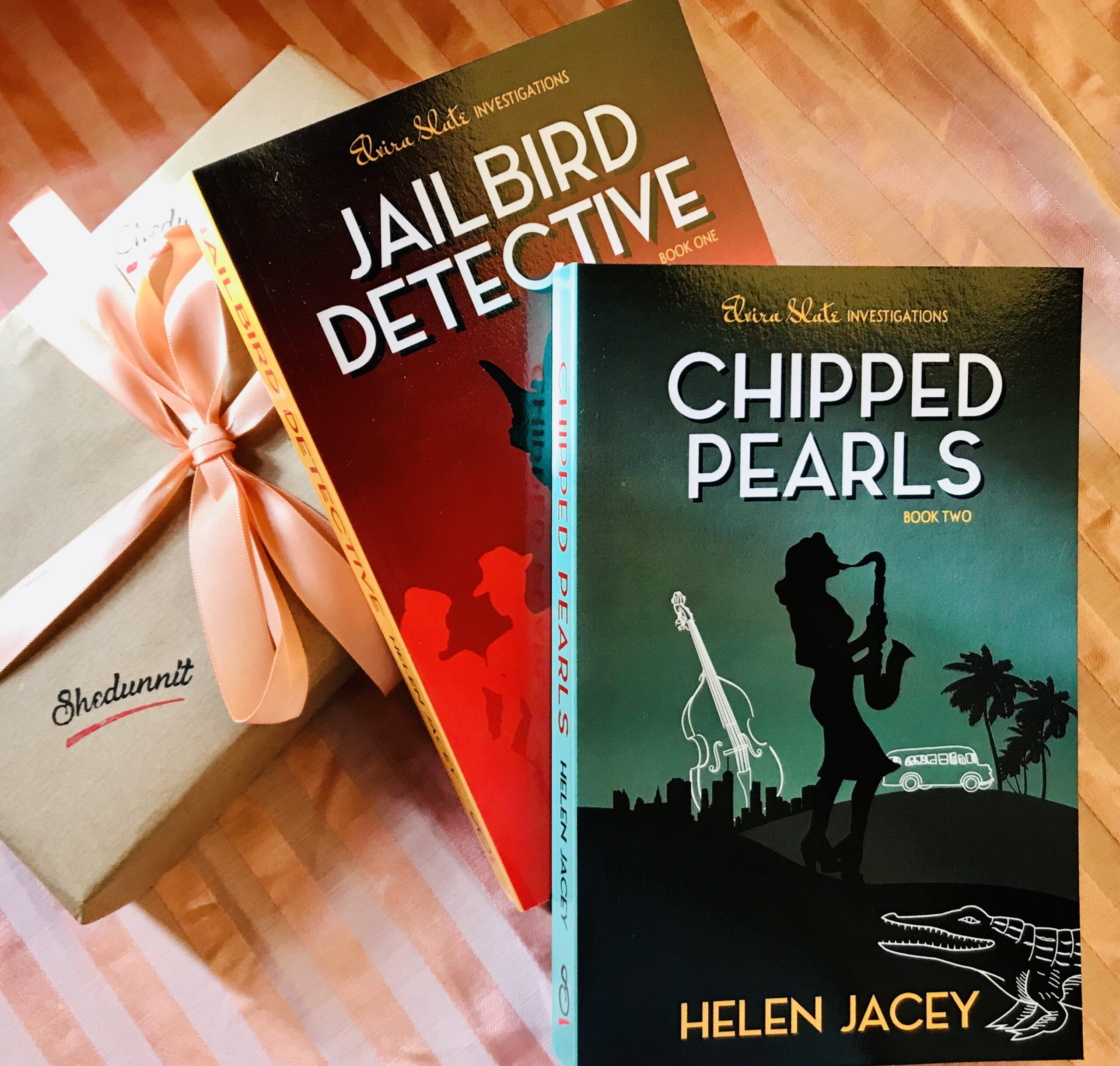 Hastings Independent Press Review Of Chipped Pearls, Book 2 In Our Feminist Noir Mystery Series